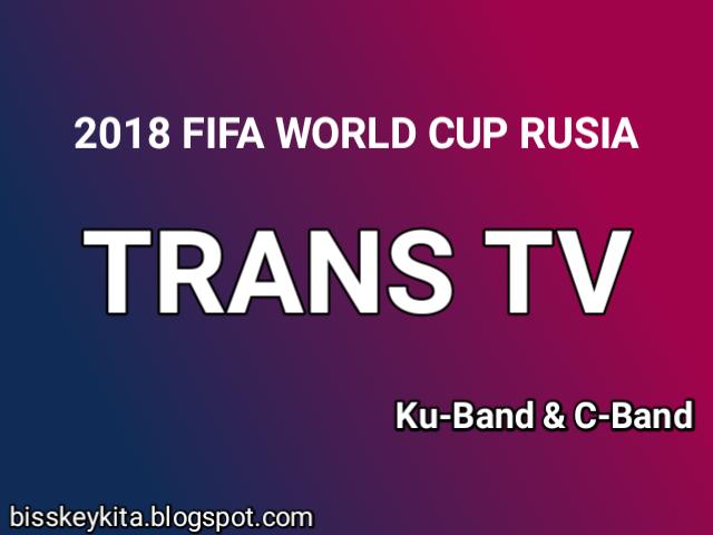 Frekuensi Trans TV C-Band dan Ku-Band
