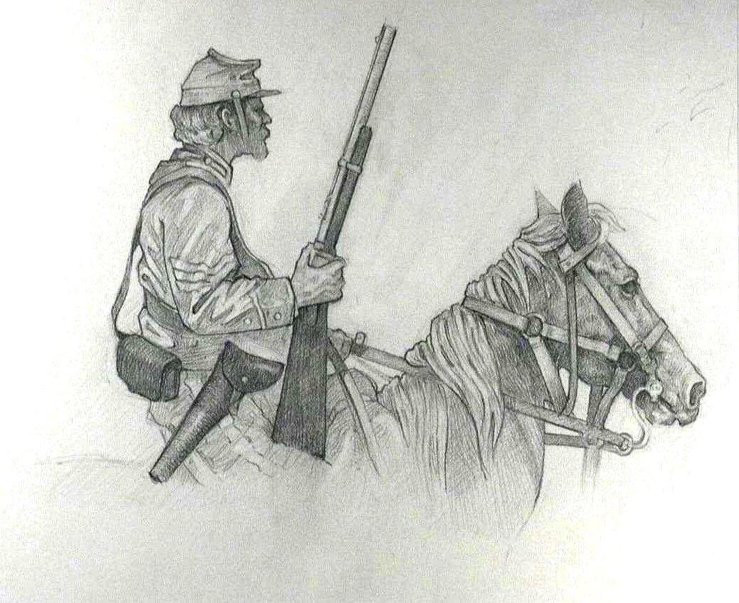 Garret's Drawing A Day Blog: Civil War