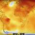 شاهد التغير المناخي على مدار 136 سنة توحي بنهاية العالم..