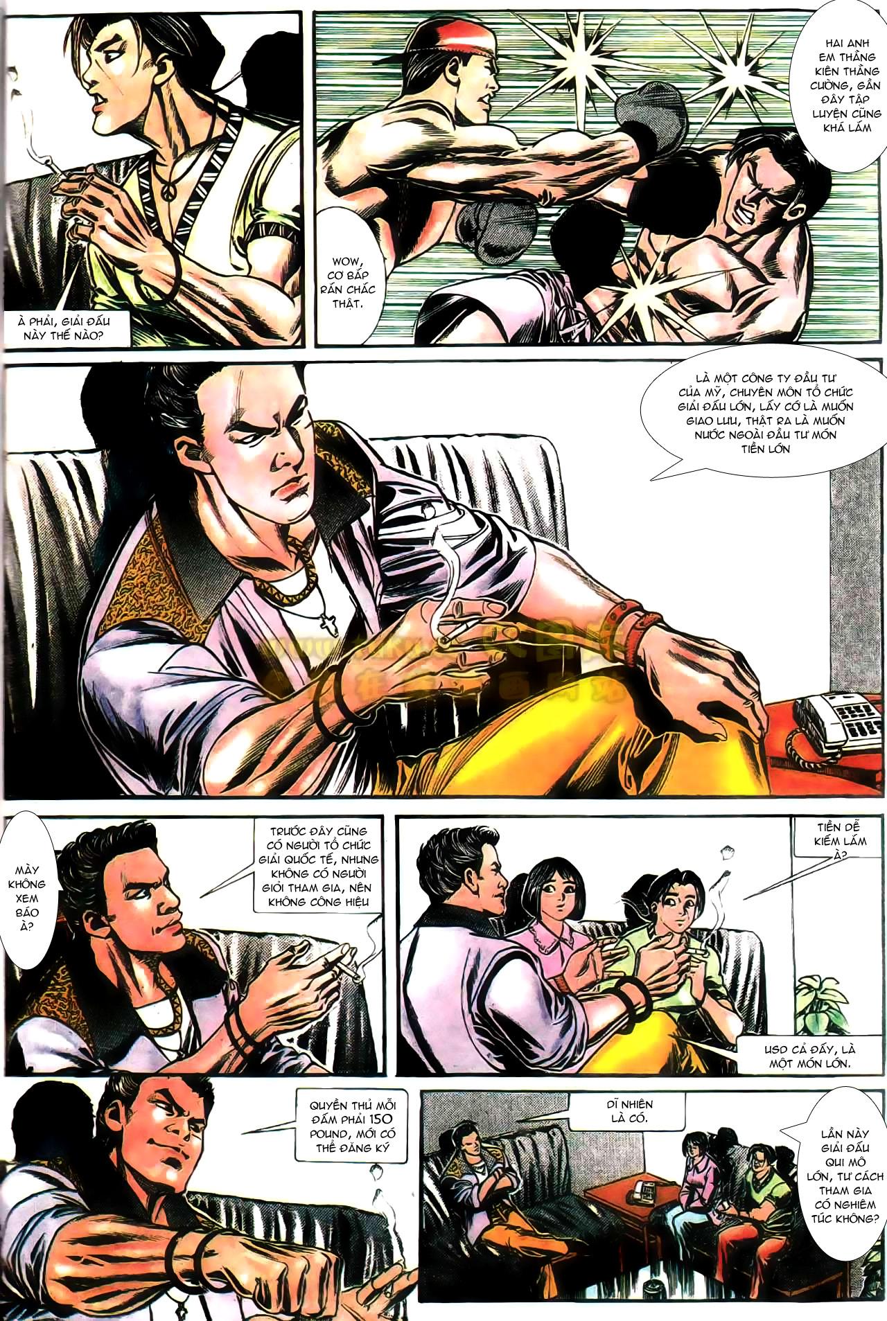Người Trong Giang Hồ chapter 165: phong thái ngưu cô trang 18