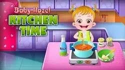 Bebek Elâ Mutfak Zamanı - Baby Hazel Kitchen Time