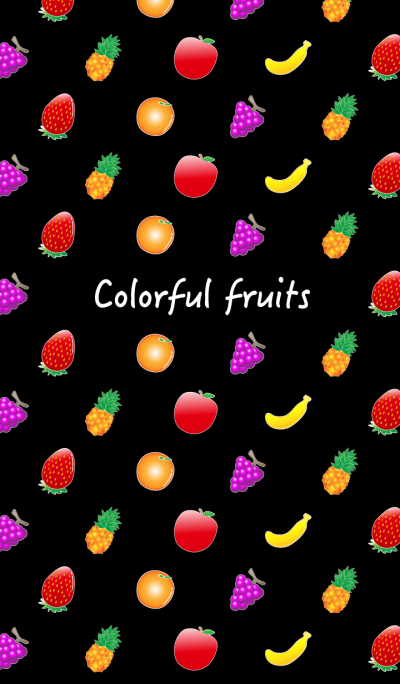 Colorful fruits!