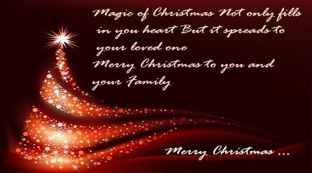 Happy Christmas Quotes for a loved ones