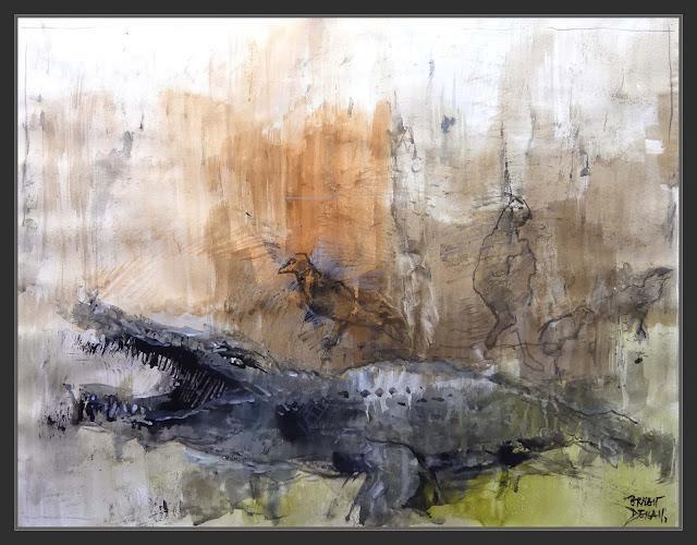 MUSEU-DARDER-BANYOLES-ART-PINTURA-ANIMALS-INTERIOR-COCODRILS-AUS-QUADRES-MUSEUS-PINTOR-ERNEST DESCALS