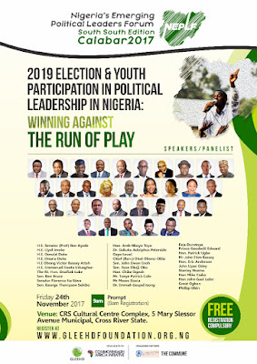 2019 Election: Uduaghan, Duke, Imoke, Attah, Peterside Prepare South-South Youths for Political Leadership