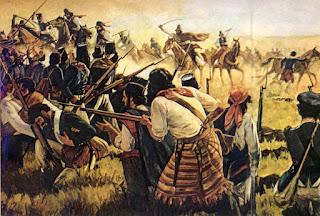 Revolução Farroupilha ou Guerra dos Farrapos - Rio Grande do Sul