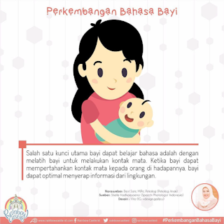 Bahasa  dan Bicara Bayi