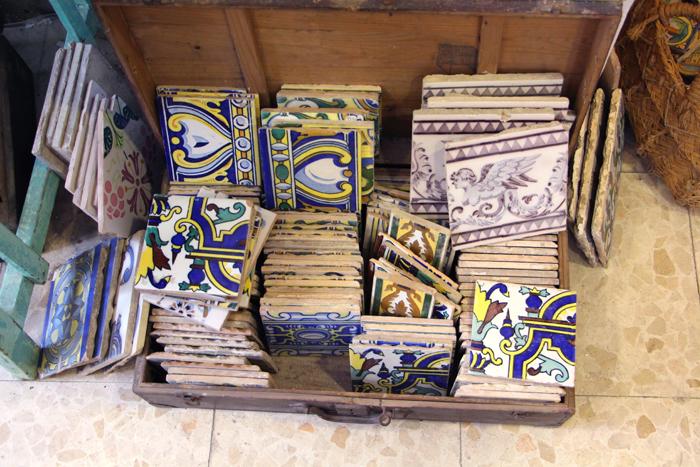 Coco Seville - antike Kacheln aus Sevilla