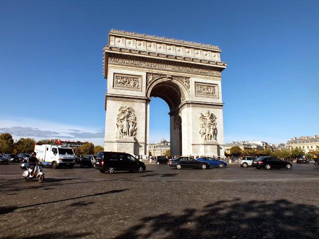 Arco del Triunfo París