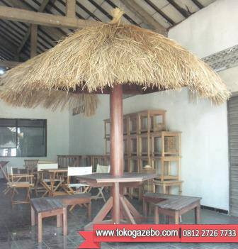 Gazebo Sett Meja Cafe