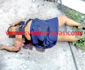 Ejecutan a otra mujer dentro de su domicilio en Camaron de Tejeda Veracruz