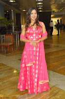Sindhu Shivarama in Pink Ethnic Anarkali Dress 24.JPG