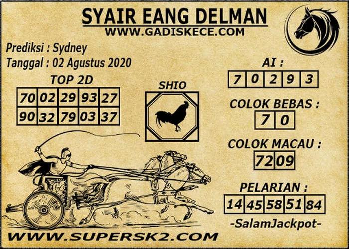 Kode syair Sydney Minggu 2 Agustus 2020 76