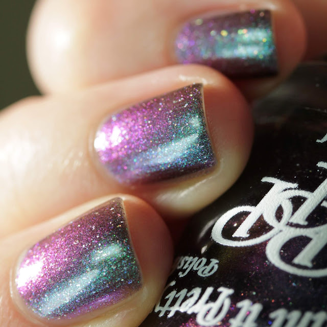 Paint It Pretty Polish Cosmic Showers Bring Space Flowers swatch by Streets Ahead Style