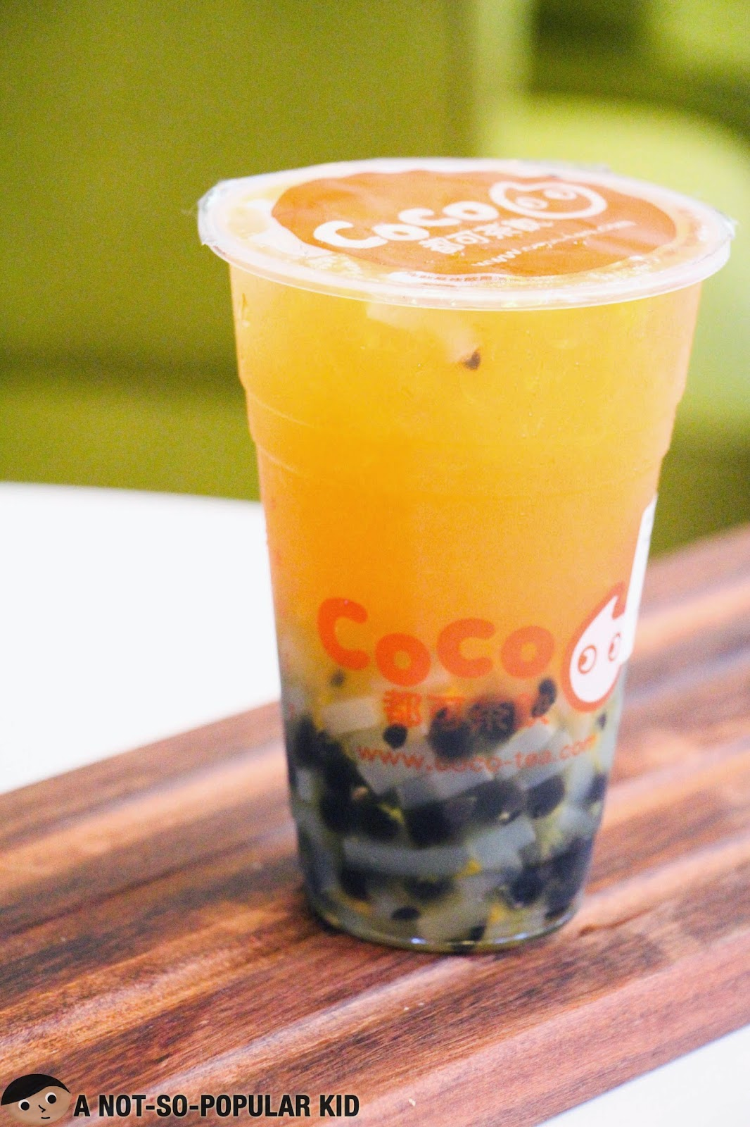 CoCo's Bestselling Passion Fruit Tea Burst