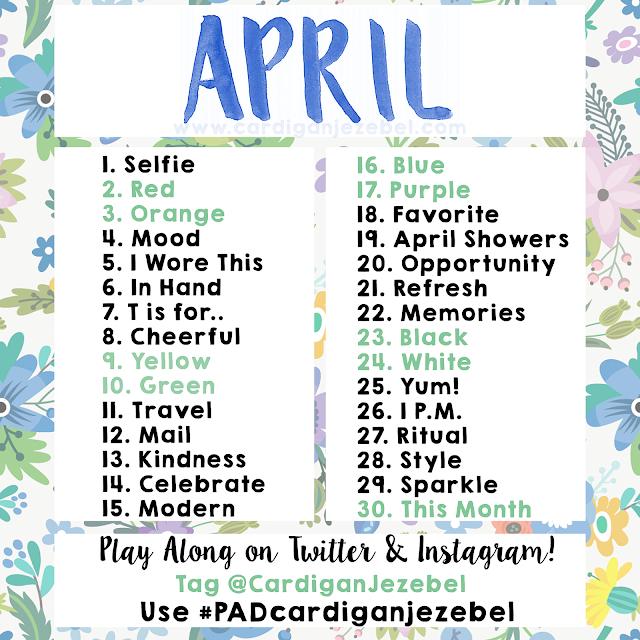 Photo Challenge || April 2016