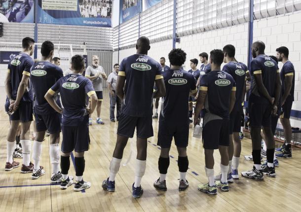 Após férias, atletas do Sada Cruzeiro se reapresentam