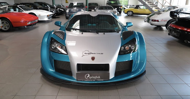 Gumpert Apollo 2000s German supercar