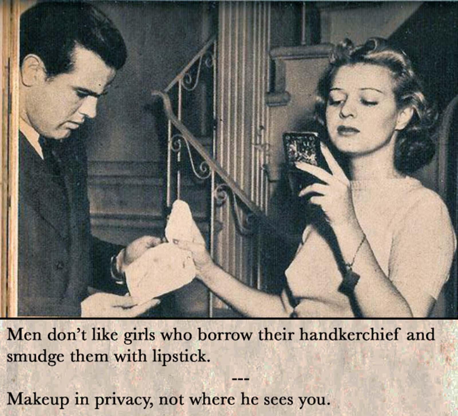 Consejos de citas antiguas para mujeres solteras, 1938