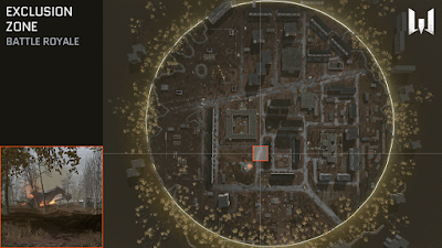 Zona de Exclusión mapa warface