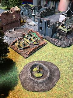 The British bombers take their target!