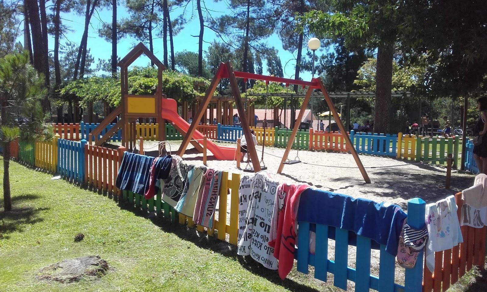 Parque Infantil Praia Fluvial Olhos da Fervença
