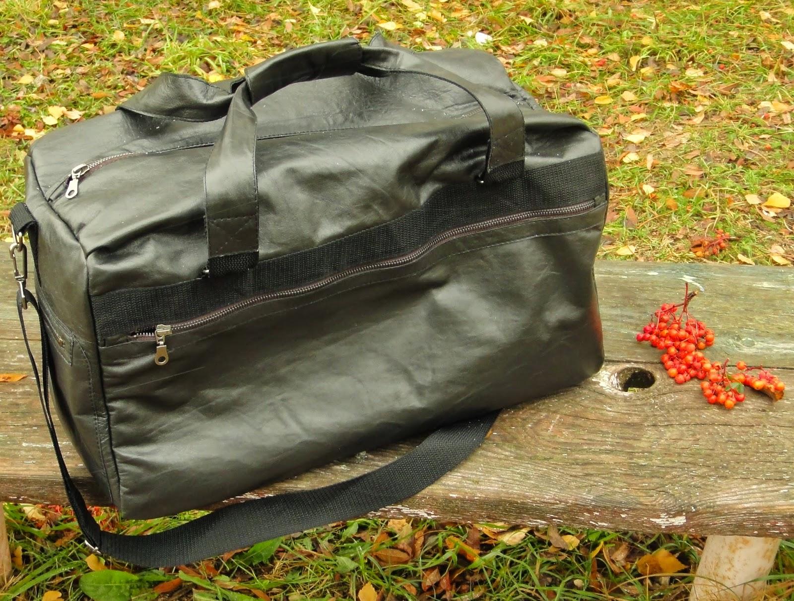 Мужская сумка через плечо на длинном ремне - подарок спортсмену