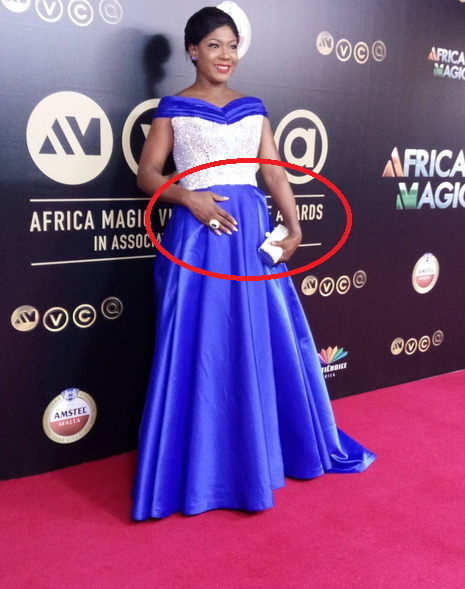 nollywood actress susan peters is pregnant