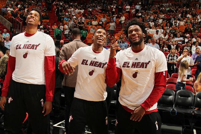 Hassan Whiteside, Josh Richardson et Justise Winslow incarnent l'avenir du Heat