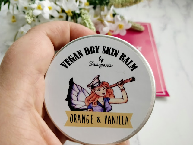 Fairypants Vegan Cosmetics Dry Skin Balm in Orange & Vanilla