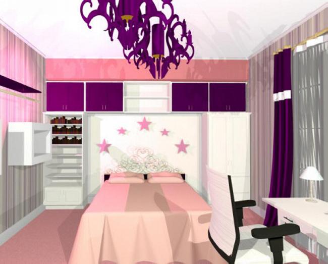 Design - interior - dormitor - camera - copii | Design interior dormitor case stil clasic de lux | Design interior case - preturi - Cluj - Bucuresti - Constanta - Ploiesti - Brasov - Pitesti