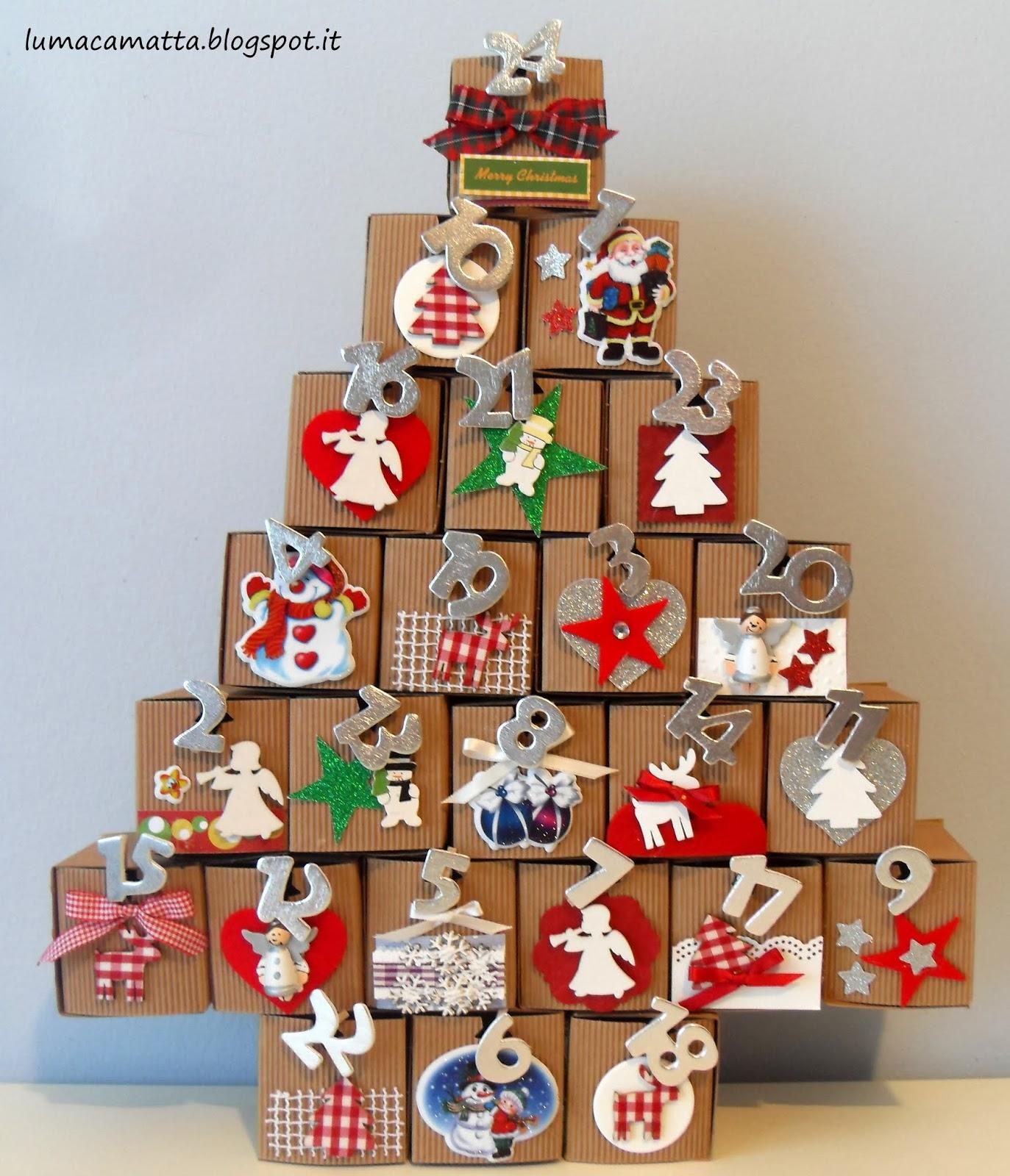 Creare Calendario Avvento.Calendario Dell Avvento Tante Idee Handmade Da Mamma A Mamma