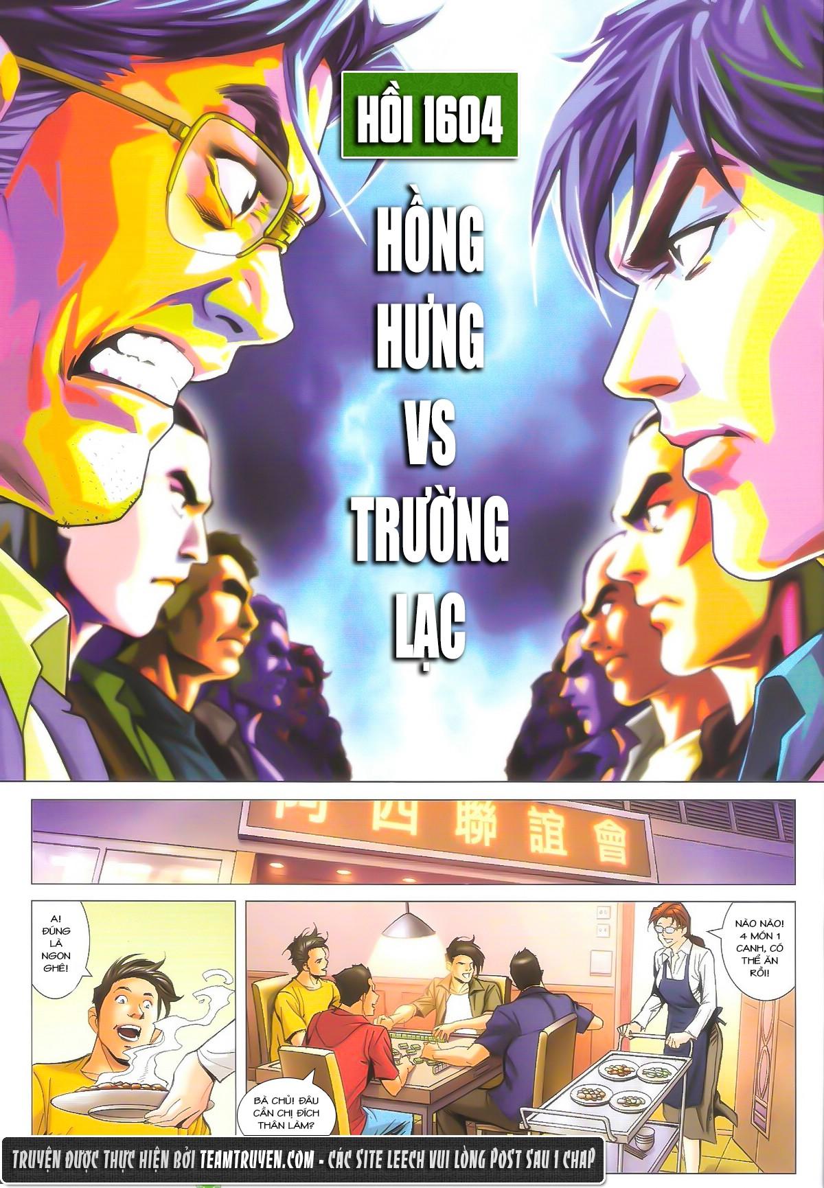Người Trong Giang Hồ chapter 1604: hồng hưng vs trường lạc trang 2