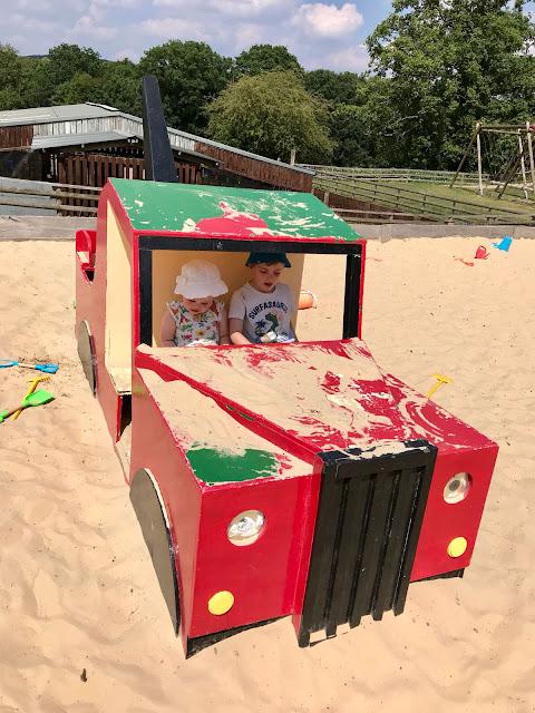 Godstone Farm, Surrey Review - Outdoor Play Area