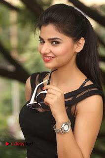 Actress Kamna Ranwat  Pictures in Black Short Dress at Selfie Raja Interview  0026