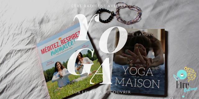 Deux livres pour faire du Yoga à la maison!