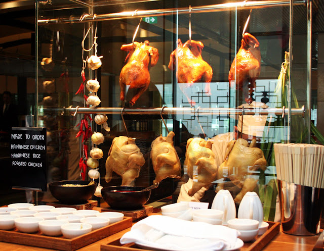 Grand Hyatt Hotel's The Grand Kitchen Hainanese Chicken Rice