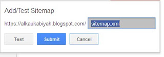 Langkah-langkah Submit Artikel Blog Ke Google Webmaster Tools