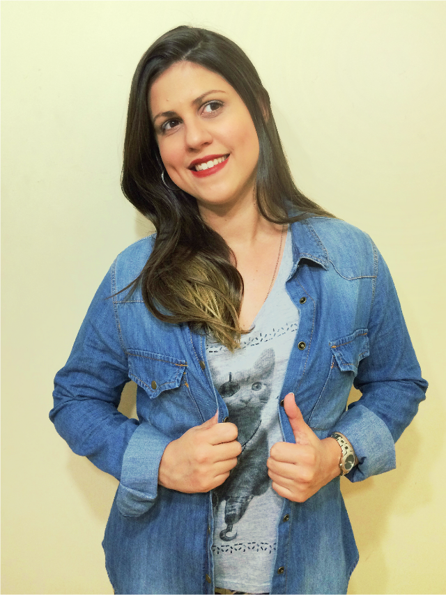 Look do dia: camiseta de gatinho da C&A