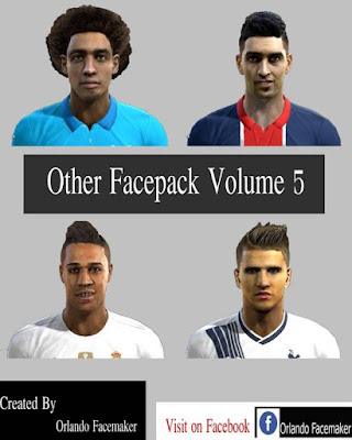 PES 2013 Other Facepack