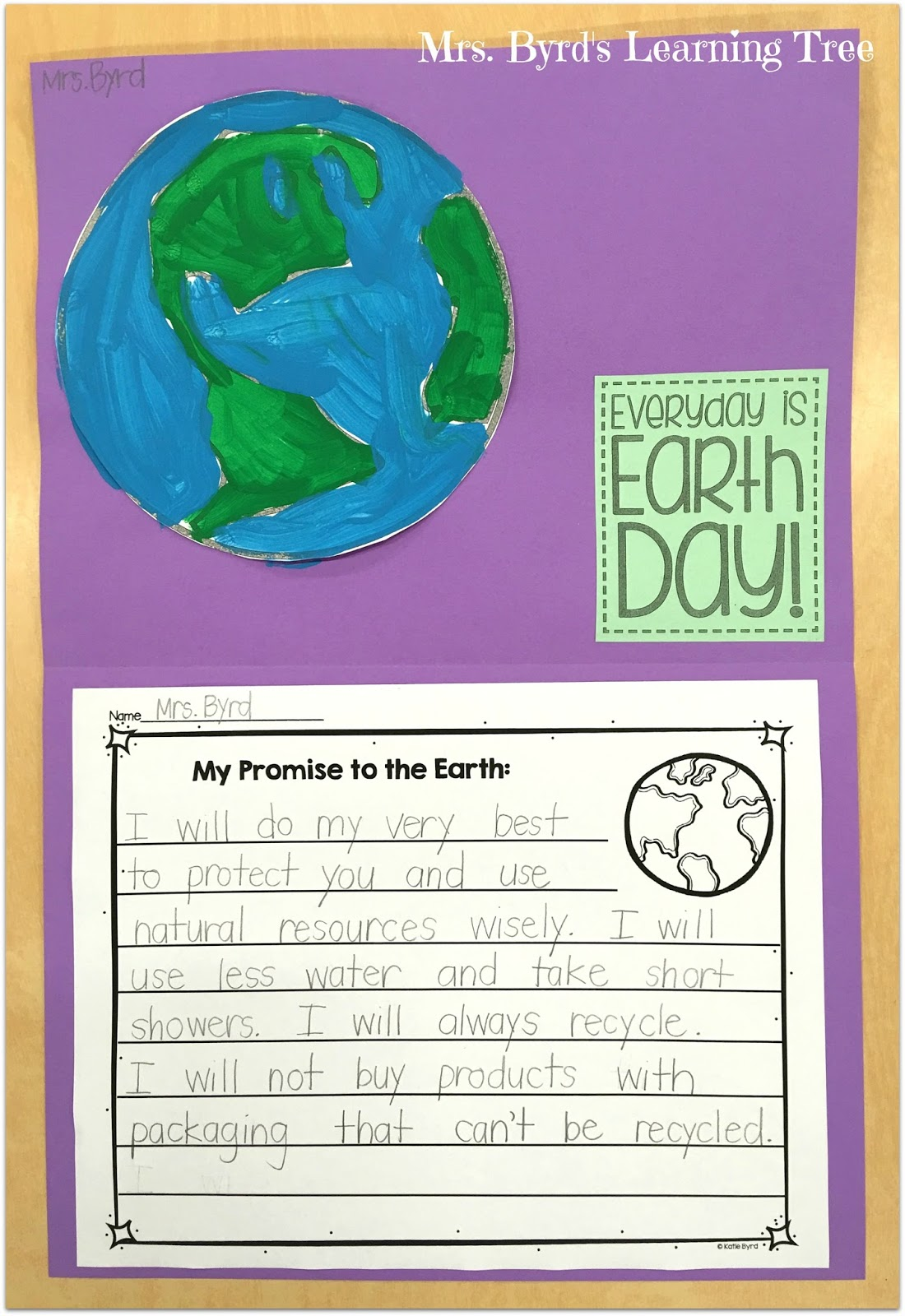Mrs Byrd S Learning Tree Earth Day Blog Hop