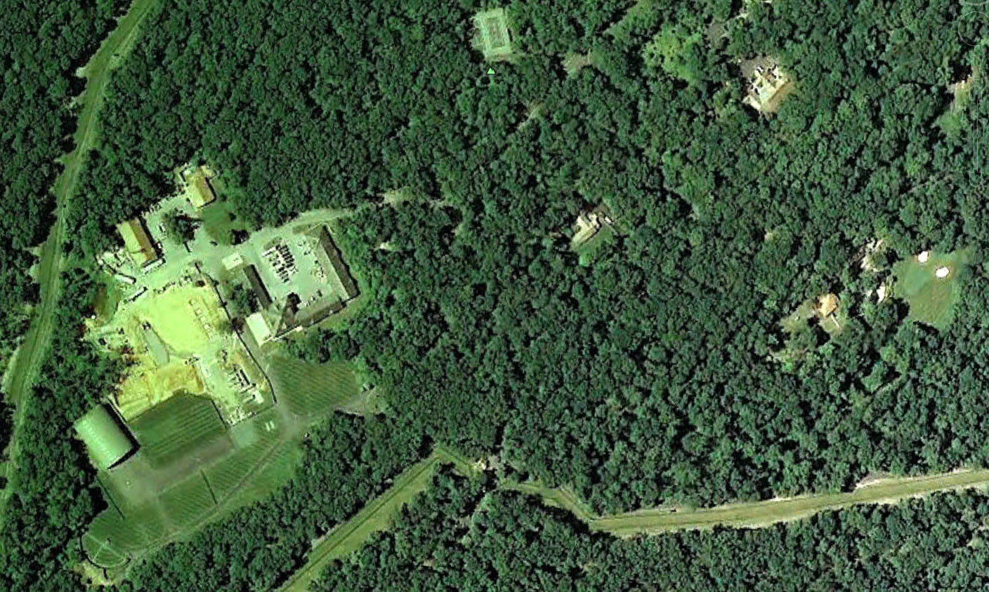 About Camp David Camp David On Google Maps And Google Earth - Google maps aerial view