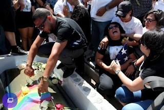 Tension At funerals for Orlando Victims With Protest, Irate Driver
