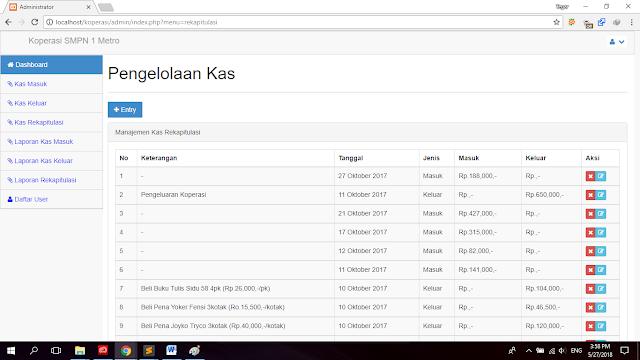 download sistem informasi keuangan koperasi php sql