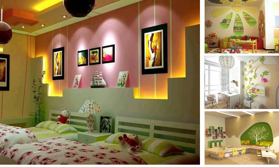10 Teenage Gypsum board decoration - Home Decor