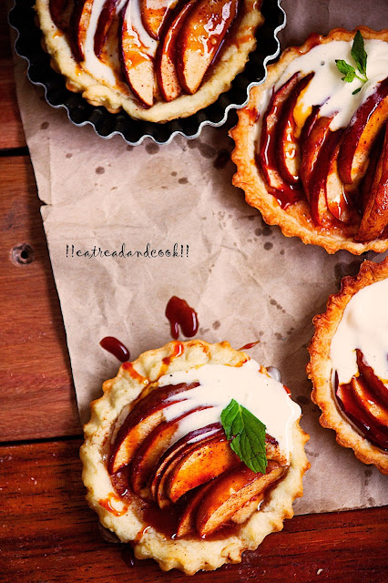 how to make Mini Apple Tart recipe and preparation