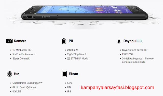 Sony Xperia M4 Aqua Teknik Özellikler