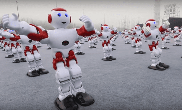 robots break guinness world record