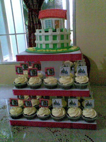 Biba Party Shop Ladzz House Blessing Cake Mom And Dad S Anniversary Cupcakes And Meme S Graduation Cupcakes