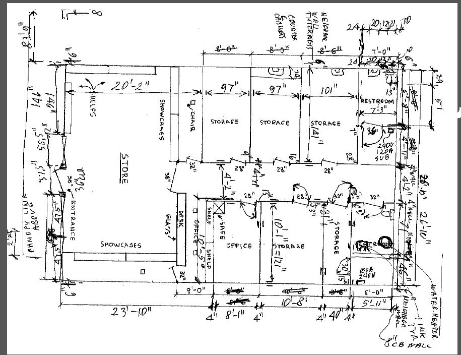 Bryan's CAD Page: Hand Drawn To Cad Conversions